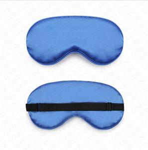 Acolchoado Silk Eye Mask Sponge sono Sombra remendo tampa Eye Vision Care sólidos Máscaras Plain sono viagem de lazer Relaxe Venda VENDA D61812