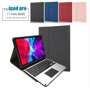 Fashion New Smart Trackpad Wireless Keyboard for 2020 iPad Pro 11 Leather Case Mouse Touchable Bluetooth Keyboard Pen Slot Cover Funda X1