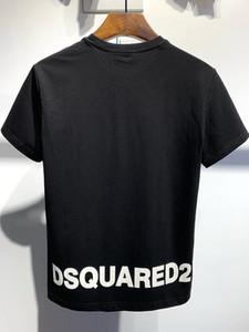 20SS Италия Disco Punk Streetwear Мужские футболки Письмо печати высокого качества Шорты Топы Мужчины Женщины Hip Hop Harajuku T Shirt Tee CH544