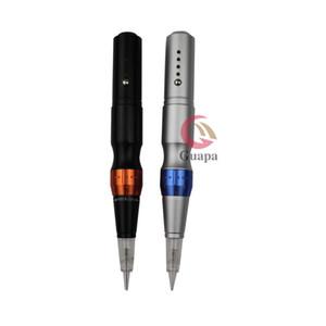 Pen Tattoo sans fil machine électrique sans fil machine permanente de Sourcils de maquillage avec 4 niveaux vitesse pour eye-liner lèvres PMU Sourcils