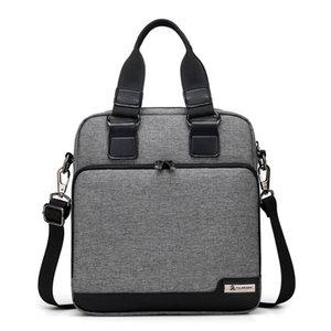 Herren Wear Resistant Handtasche Vertikale Business Aktentasche Multilayer Speicherplatz Design Crossbody Packs Leichte Oxford Umhängetaschen