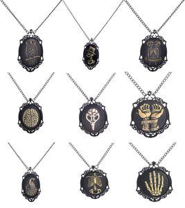 New Fashion Steampunk Alloy Pendant Necklace Vintage Skeleton owl Long Chain Necklace retro vintage necklace fashion jewelry