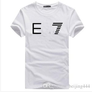 Hot brand summer t shirt men's casual short sleeve cotton tops tees print men t shirt hip hop male T-shir coco