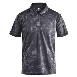Hızlı Yamalar Typhon Multicam Kuru Trend ile mege Marka Giyim Erkek Gömlek Taktik Kamuflaj Tişört Yaz Casual Giyim