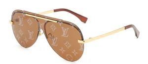 2020 Luxury Occhiali da sole retrò occhiali per la Mens dello specchio di vetro verde Lense Vintage Occhiali da sole Eyewear Accessori da donna Occhiali da sole 4color