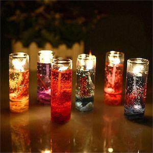 La aromaterapia alta calidad sin humo velas velas conchas del océano jalea de petróleo esenciales de boda románticas velas perfumadas de color aleatorio ST128