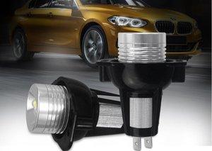 10W Ошибка бесплатный автомобиль светодиодный ангел Eyes Marker огни лампочки для серии E90 E91 3