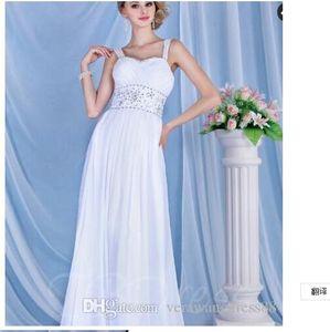 Empire Spaghetti Strap Sleeveless Dasha's Wedding Dress