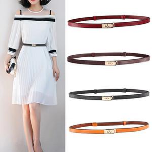 2019 Korean Fashion Gürtel Frau Drehschnalle Echtes Leder Kleid Taille Kette Dekoration Feine Haut Bringen Sie Ein Stück Generation Haar