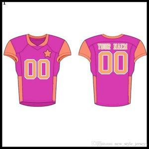 Top para hombre jerseys insignias del bordado de Jersey al por mayor una vcz1 envío QW1111