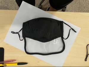 2 in 1 eye mask dustproof earloop for kids adult with valve breathing protective mouth cover facial masks outdoor  mask FFA4103-5