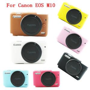 Para Canon EOS M10 Camera Capa de silicone suave Camera Bolsa de protecção Caso corpo
