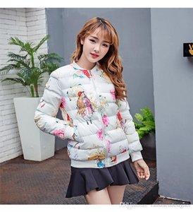 Winter Womens Jacket Designer Printed Plus Size Coat Fashion Womens Slim Thick Baseball Outerwear