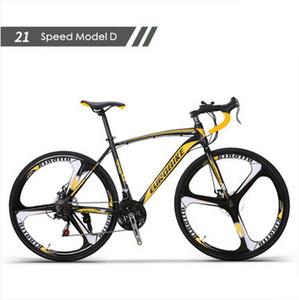 جديد إطار من الصلب العلامة التجارية الكربون عجلة 700C 21/27 سرعة قرص الفرامل الطريق دراجة الرياضة في الهواء الطلق ركوب الدراجات BICICLETAS سباق الدراجات
