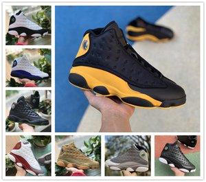 Bargain sale 13 13s hommes chaussures de basket-ball inversée He Got Game Chicago élevé Flint Playground sale Bred sports argent pur espadrille 40-46