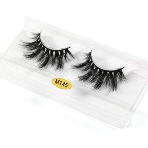 MAGEFY 25mm 5D Mink Eyelashes Thick Messy Makeup Lashes Handmade Long False Eyelashes Eyelash Extension Maquiagem Mink Hair