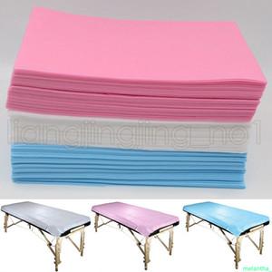 80 * 180CM يعاد الطبية غير المنسوجة الجمال تدليك صالون فندق SPA سادات مخصصة غطاء سرير صفائح 3 ألوان AAA628