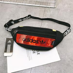Waistpack Cruz de la cintura del cuerpo bolsa de hombro Bolsa de moda para mujer para hombre unisex del adolescente del estudiante 4 colores simple único de estilo casual Deportes B104217Z