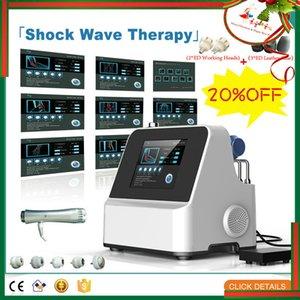 Alta qualità extracorporea Shock Wave Therapy Shockwave elettronico onde acustiche Terapia fisica Dolore fisico Attrezzatura Therapy
