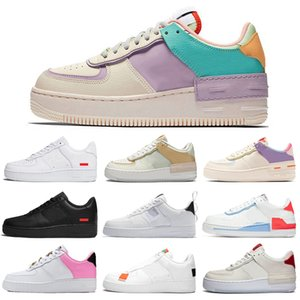 nike air force 1 shadow forces shoes af1 one N354 Typ Laufschuhe Männer Frauen Plattform Chaussures Triple schwarz weiß Tropical Twist Herren Trainer Turnschuhe
