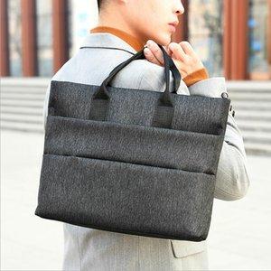Briefcases Men Business Briefcase Man Casual Shoulder Messenger Bag Men's Handbag Cross Section Laptop Bag Good Quality