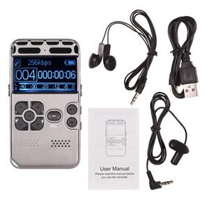المهنية HD تسجيل صوتي رقمي واحدة على زر سجل الضوضاء Reducation الإملاء 8GB 16GB 32GB سعة كبيرة مسجل USB شحن