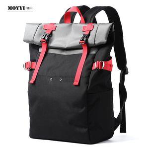 Hot wholesale personalised Roll top backpacks waterproof men hiking school backpack lightweight unisex outdoor bags