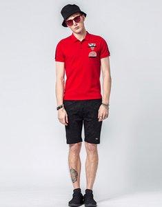 Mens Designer Polo Shirts Summer Male Fashion Polos Short Sleeved Tees