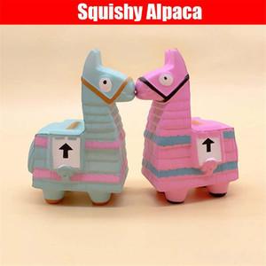 Matschig Alpaka Lama matschig 13CM steigt langsam Squishies Toy Simulation Anti-Stress-lustige Gadgets Spielzeug für Kinder