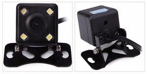 프로 모션 새로운 120도 후면보기 카메라 유니버설 방수 HD CCD 4 LED 나이트 비전 자동차 Rearview 카메라 Assistance 무료 배송