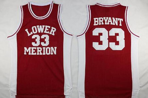 NCAA Lower Merion 33 Bryant Jersey College-Männer High School Basketball Hightower Crenshaw Gianna Maria Onore 2 Gigi Mamba Jerseys genähtes