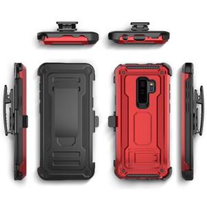 Defender Hybrid-Rüstung mit Gürtelclip-Halter für iPhone 11 Pro Max XR XS MAX X 8 7 Plus Samsung A6 A8 und J7 2018