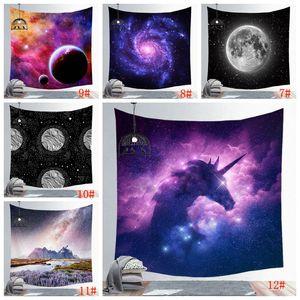 150 * 130 centímetros parede impresso surpreendente Starry Night Sky Estrela Tapestry 3D retrato de suspensão Bohemian Toalha de Praia pano de tabela Cobertores DBC BH3036
