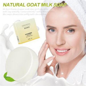 Goat's Milk Handmade Soap Removal Acne Blackhead Smooth Skin Tightening Pores Deep Cleaning Whitening Moisturizing Soap