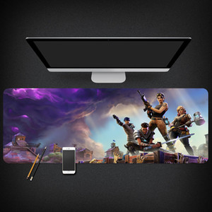 Jogo Fortnite Gaming Mouse Pad Gamer Tocar Mats Grande Keyboard Pad PC Pad Desk para PC portátil (800 x 300 x 3 mm)