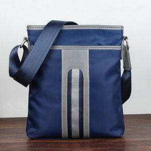 Vertical Cross Body Bag Oxford Nylon Casual Single Shoulder Pack Fashion Casual Male Messenger Bag For Men