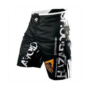 Esportes dos homens Calças Formação Muay Thai Luta Combate Calças de Fitness Tiger Muay Thai Boxing Roupas Shorts
