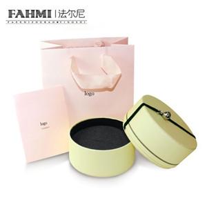 FAHMI Temperamento Moda Jóias Cuidados Livro Do Conhecimento Caixa De Armazenamento De Jóias Gift Bag Set Original Autêntico