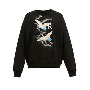 Grue à capuche pour hommes Sweat-shirts Mode imprimé de haute qualité Hommes Femmes Sweats à capuche unisexe Styliste Veste à capuche Taille S-XL