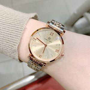2020 Hign Qualidade Senhora de Moda de Nova relógio com diamante de luxo Mulheres relógio de pulso de aço inoxidável Movimento Japão Vestido pulseira relógio Atacado