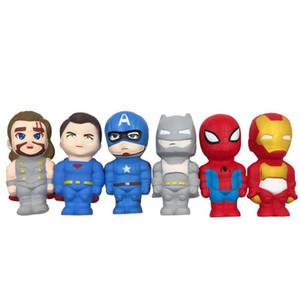 Matschig Der Rächer Iron Man Captain America Spielzeug matschig Slow Rebound-Simulation Lustige Vent Weihnachten Spielzeug