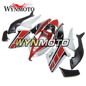ABS Plastik Enjeksiyon Kırmızı Siyah Beyaz Yamaha T-MAX XP530 Yıl 2012 2013 2014 12 13 14 Komple Motosikleti Kaporta Takımı için Kapaklar