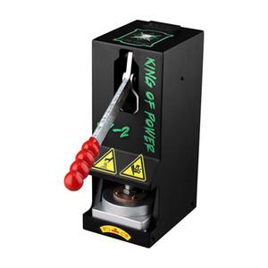 Nuova versione LTQ vapore Rosin macchina della pressa KP-2 Re del Potere Pressione Su Tool Kit morsetto Riscaldamento cera a secco Herb fai da te originale