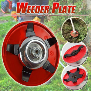 universal multi-functional trimmer head for lawn mower Garden Tool parts Brush Cutter Blades Steel hedge Grass Trimmer Head