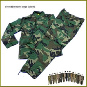 Jungle the second Dai Meiguo acu camouflage hunting second generation American ACU training special military camouflage training suit huntin