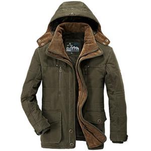 XingDeng moda Ceketler Erkekler Dış Giyim Rüzgarlık Sıcak Fermuarlı cebi Mont Erkek Parka Masculino Militar Ceket