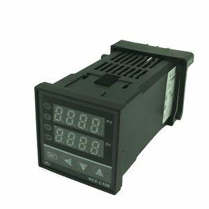 REX-C100 Digital PID Temperatura da saída de controlo Controlador Termostato Termômetro Relé