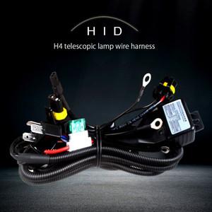 1pcs HID Bi 크세논 H4 Hi / Lo 히든 크세논 키트 H4-3 H13-3 9004-3 9007-3 bixenon 배선 하니스 hi 컨트롤러 배선 케이블 하네스