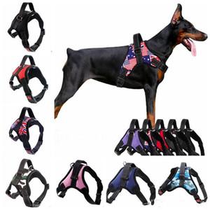 Nylon Hundegeschirr im Freien kleine Hundeweste Haustierkabelstrang Welpen Gürtel Blei Zubehör für Hunde über 13 Design-XD22338