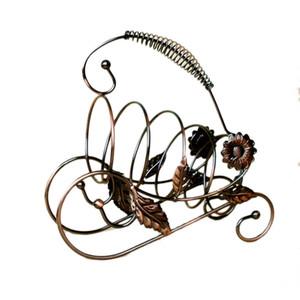 Sun Flower Wine Rack Творческий Винный Шкаф Висит Стеклянный Держатель Пиратский Корабль Форма Бар Держатель Home Decor Бар Поставки